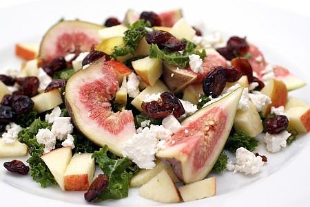 Salat med Figner
