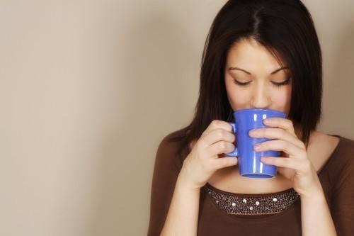 kaffe og vitaminpiller