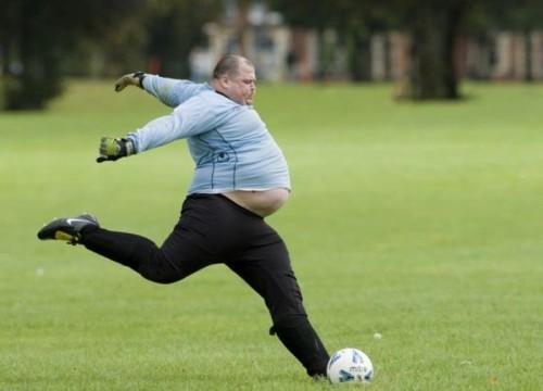 modvirk sukkersyge med fodbold