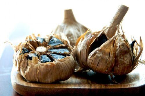 Black garlic eller sorte hvidløg