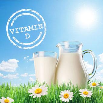 D vitamin i mælk giver falsk tryghed