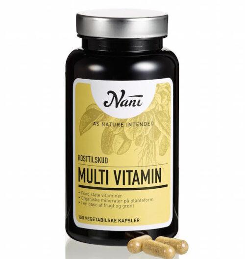 nani - nye og organiske food state vitaminpiller