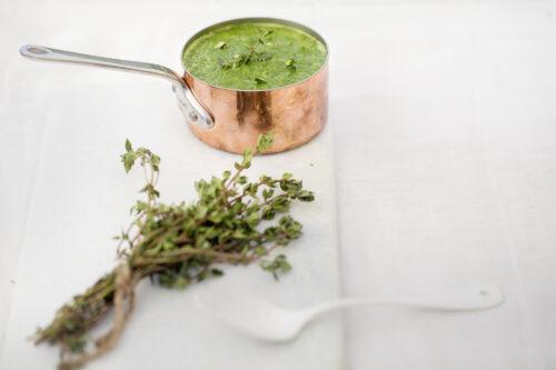 Groenkaalssuppe - opskrift paa sund groenkaalssuppe