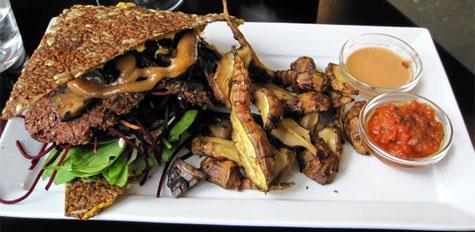 Sund Burger - Raw Food Burger