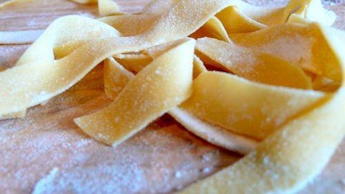 påvirket af pasta, brød og korn