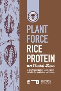 Nyt Risproteinpulver - Rice Protein