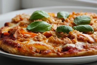 glutenfri pizza med fyld