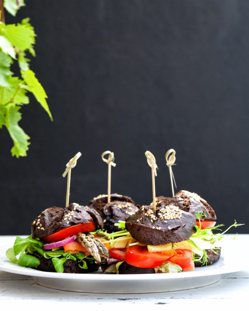 Sliders - sorte mini burgers