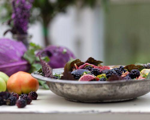 Farverig mad er sund mad