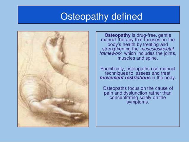 Nyt om osteopati