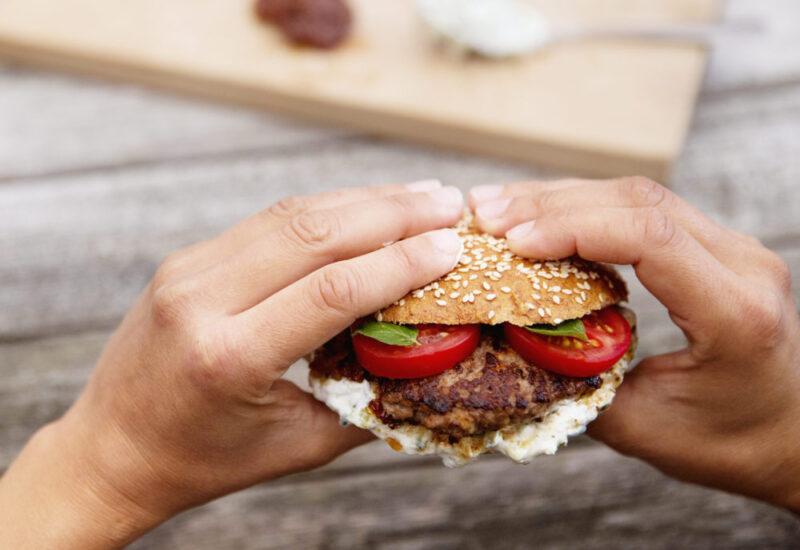 Opskrift på burger – graesk variant