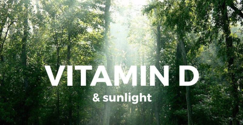 D vitamin er et solskinsvitamin