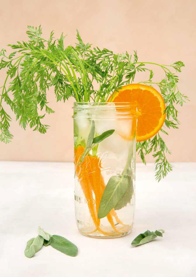 Infused water - vand med vitaminer