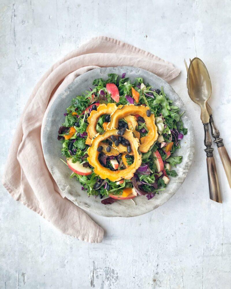 Let salat med boenner
