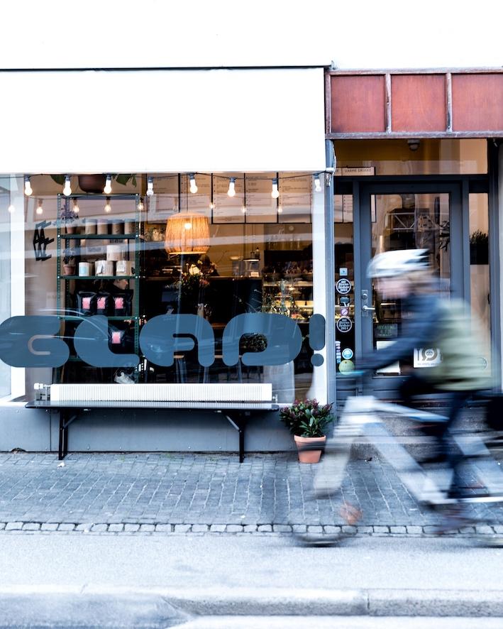 Cafe Glad - skøn oekologisk take away i Aarhus