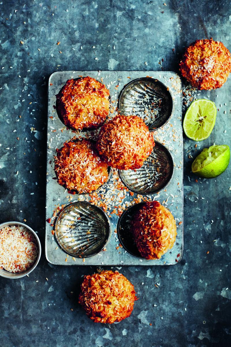 Kokosmuffins - opskrift paa de bedste kokosmuffins.