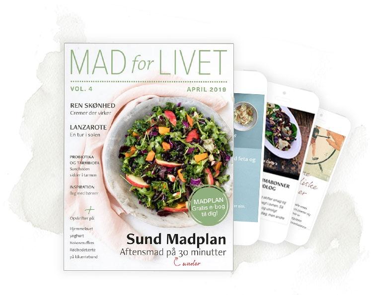 Gratis nyhedsbrev om mad og sundhed