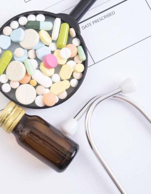 Hvornaar ordinerer laegen mad som medicin?