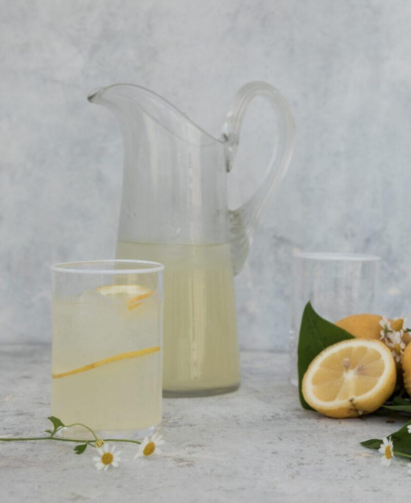 Lemonade - opskrift paa hjemmelavet lemonade