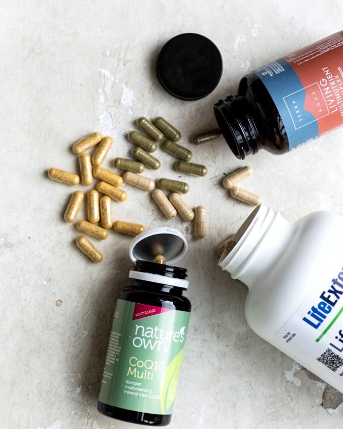 Spiser du ogsaa vitaminpiller?