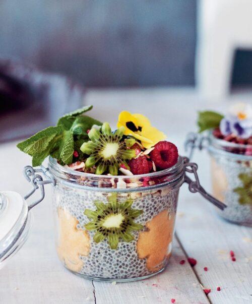 chiagroed med frugt og baer