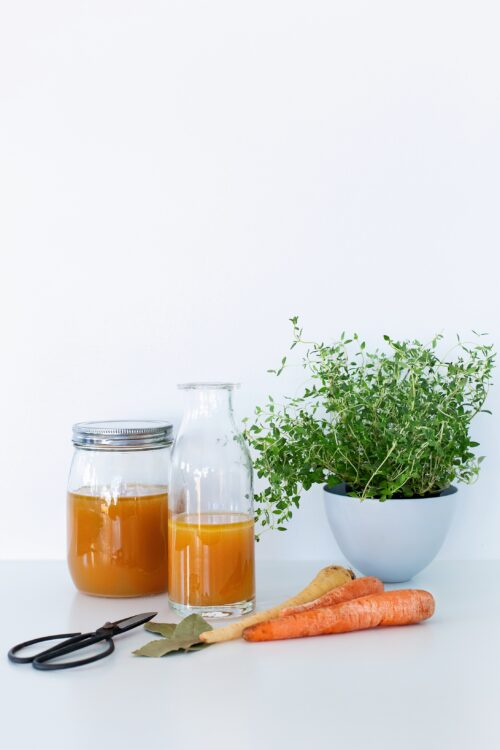 Opskrift paa Bone Broth - den bedste collagenrige suppe