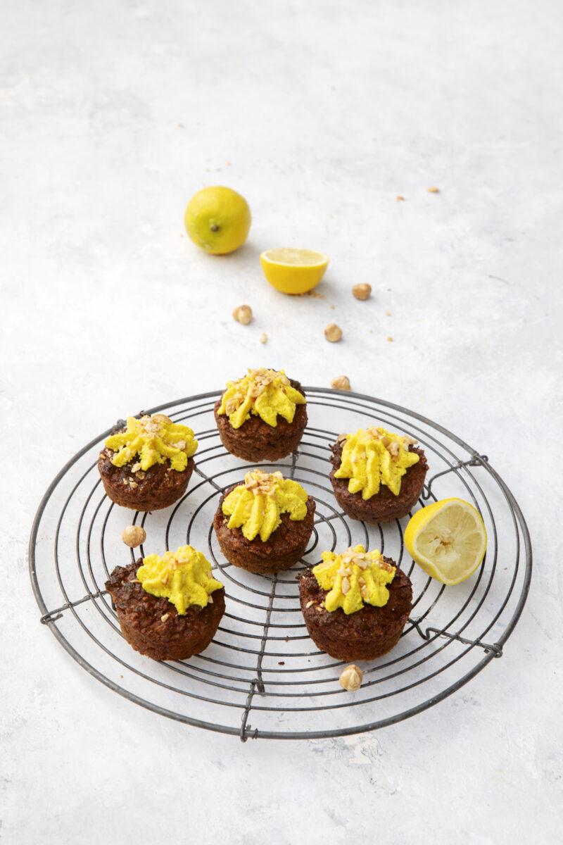 Rodfrugt muffins