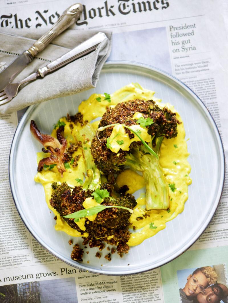 Broccoli med panade