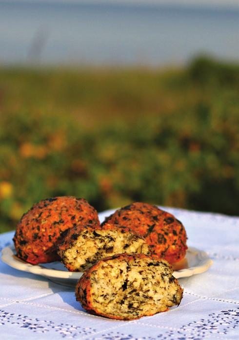 Billede af boller med quinoa