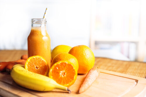 Orange energi smoothie