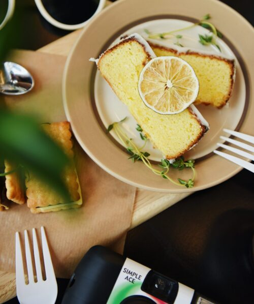 Glutenfri citronmaane