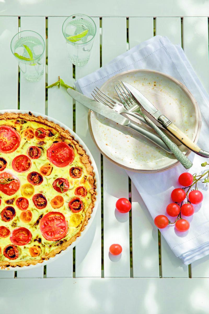 Tomattaerte - opskrift paa tomattaerte