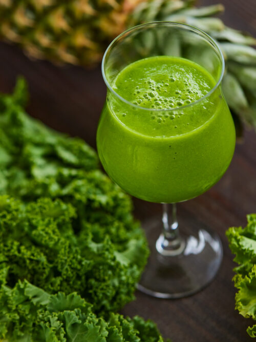 Kong Kaal - groen smoothie med kaal